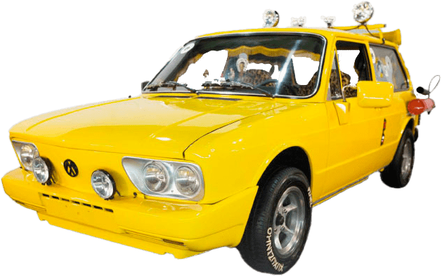 Brasilia amarela dos Mamonas Assassinas - Movie Cars Entertainment
