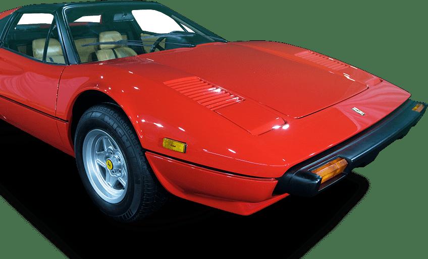 Ferrari do parque temático Movie Cars Entertainment